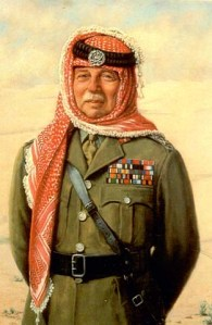 Portrait of John Bagot Glubb (Glubb Pasha) in Arab Legion uniform: Glubb led the 1948 Arab Legion's invasion of Israel and engineered the Legion's conquest of east Jerusalem.