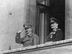 The Fuehrer and his front-man- Hitler and Goering on March 16, 1938.