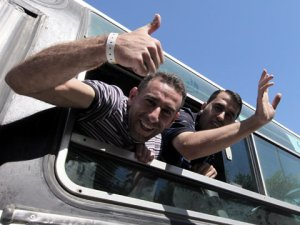 Convicted arch-murderers jubilant on their release