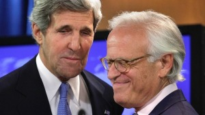 Kerry & Indyk - a succession of foreign emissaries and politicos came and went but israel consistently recoiled from the notion of shuttle diplomacy, go-betweens or overseers such as Indyk.