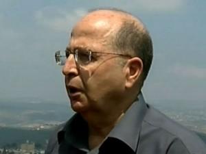 Defense Minister Moshe Ya'alom