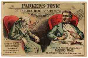 Old-time American cure-all: the panacea-peddlers' sweetened solutions were good for nothing [Courtesy]