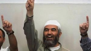 Raed Salah celebrates