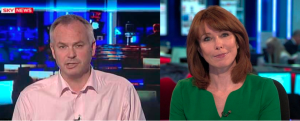 Sky's Kay Burley and Tim Marshall: there was nothing remotely kind or caring about their banter