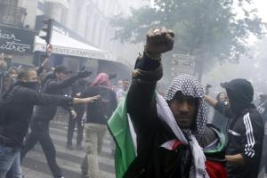 The Paris demonstration on July 13, 2014