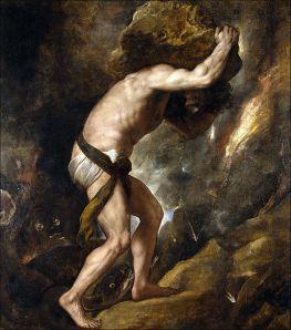 Sisyphys (1548–49) by Titian, Prado Museum