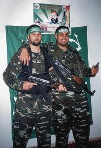 The British-bred terrorists before they set out to bomb Mike's Place - Hanif on the right and Sharif on the left