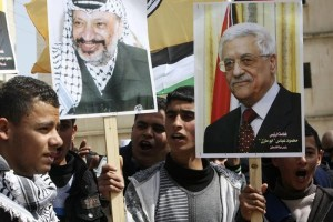 Twin inspirations: Abbas inflames his volatile masses in eerily the same idiom as Arafat
