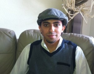 Imprisoned and flogged blogger Raif Badawi: his cyber-activity was deemed apostasy