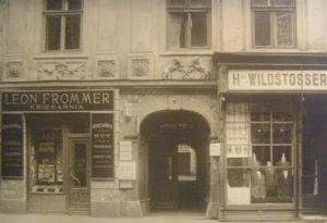 Jewish storefronts in prewar Krakow: the mandatory name-sign decree was hardly innocuous