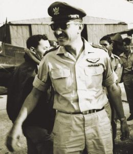 """Ezer Weizman- """"the Eternity of Israel shall not deceive and the Arabs won't let us down."""""""