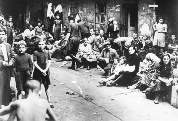 Kielce, Poland Jews fleeing the Polish town after the July 4, 1946 massacre of Holocaust survivors.